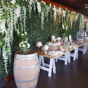mornington peninsula flower wall hire