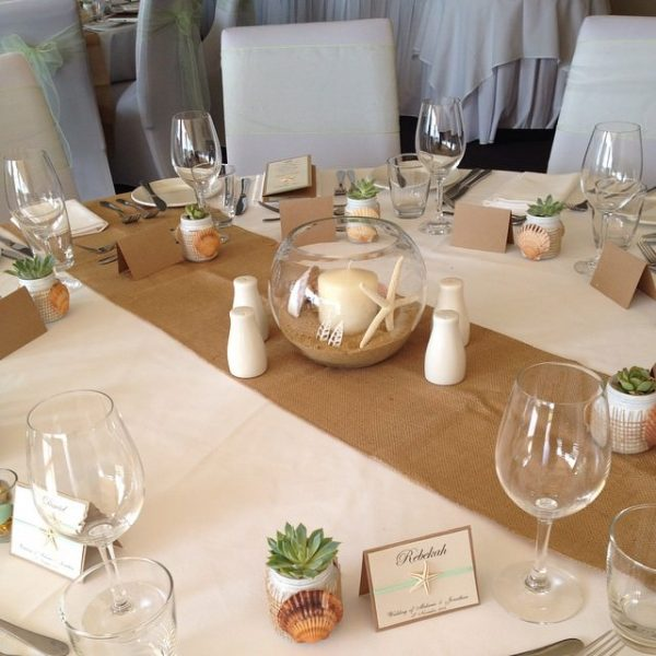 Hessian-Table-Runner