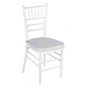 Tiffany White Chair Hire Melbourne