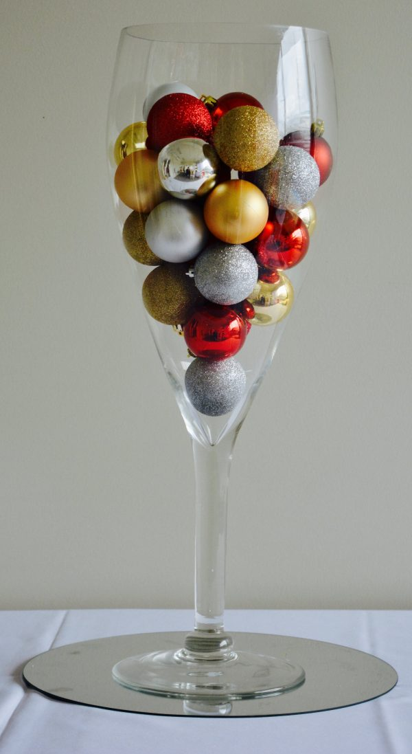 Vase Hire Melbourne - Wine Glass Vase