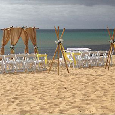 Wedding Hire Melbourne - Hire Bamboo Tripods