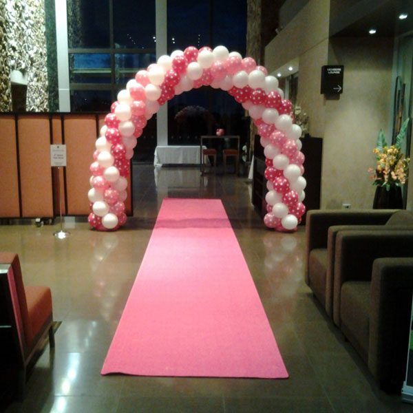 Wedding Hire Melbourne - Hire Carpet Runner Pink