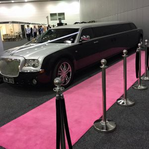 Wedding Hire Melbourne - Hire Carpet Runner Pink