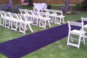 Wedding Hire Melbourne - Hire Carpet Runner Purple