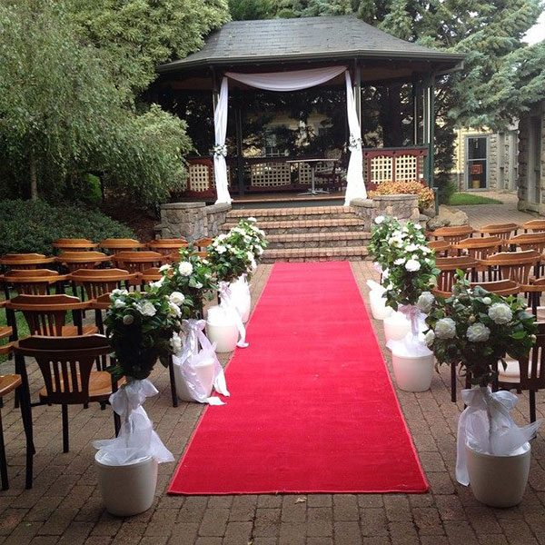 Wedding Hire Melbourne - Hire Carpet Runner Red 02