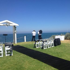 Wedding Hire Melbourne - Hire Carpet Runner Royal Black