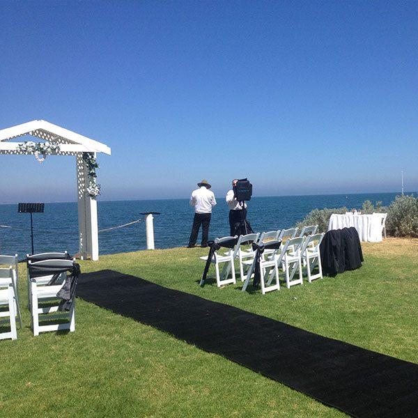 Wedding Hire Melbourne - Hire Carpet Runner Royal Black