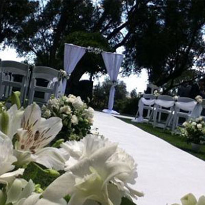 Wedding Hire Melbourne - Hire Carpet Runner White 04