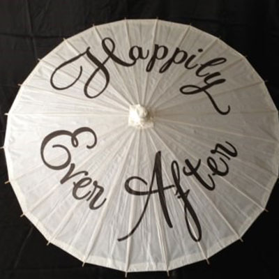 Wedding Hire Melbourne - Hire Character Parasol - Happily Ever After