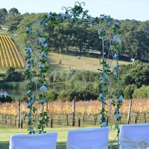 garden wedding arch hire melbourne