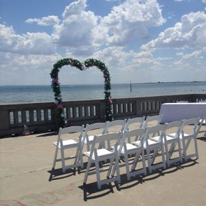Wedding Hire Melbourne - Hire Heart Shape Arch 2.2m x 2.3m
