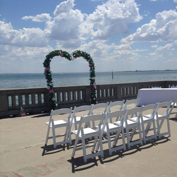 Wedding Hire Melbourne - Hire Heart Shape Arch 2.2m x 2.3m