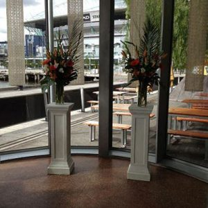 Wedding Hire Melbourne - Hire Pedestals 1.2m Stone Look