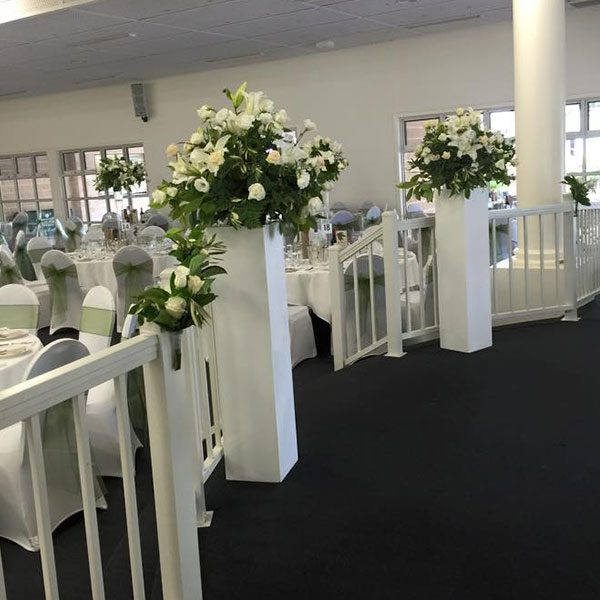 Wedding Hire Melbourne - Hire Pedestals High Gloss Large