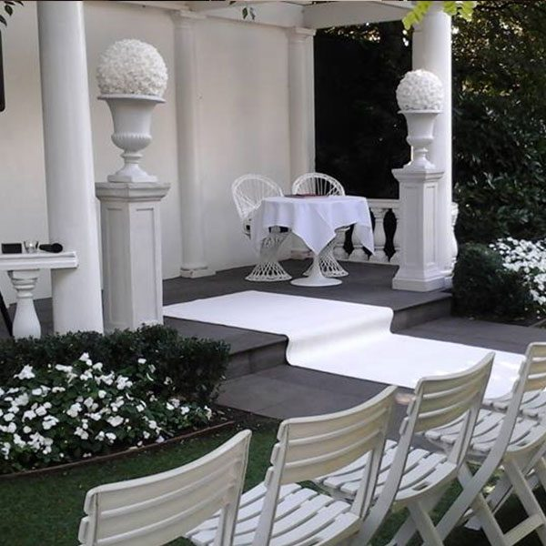Wedding Hire Melbourne - Hire Pedestals Stone Look with Urn only