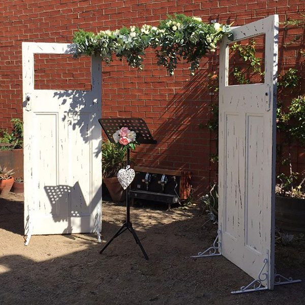 Wedding Hire Melbourne - Hire Rustic Wedding Doors 02