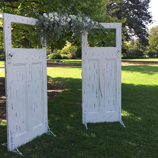 Wedding Hire Melbourne - Hire Rustic Wedding Doors