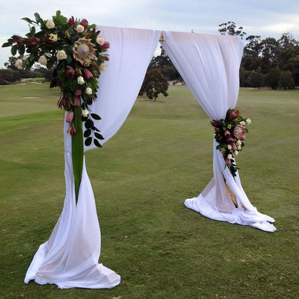 Wedding Hire Melbourne - Hire Rustic Wooden Wedding Arch