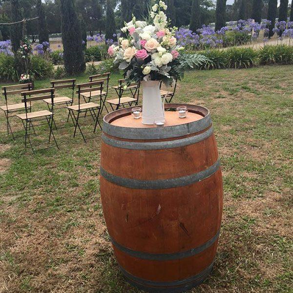 Wedding Hire Melbourne - Hire Wine Barrels