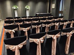 black chair cover hire melbourne