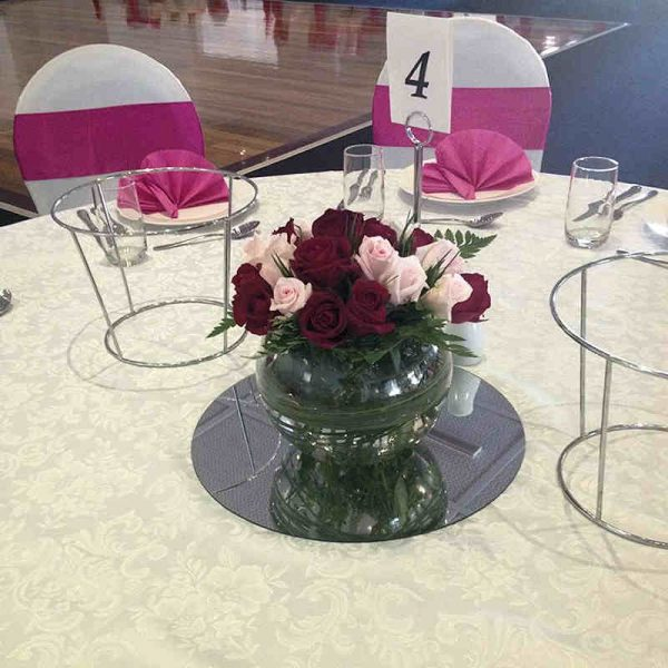 medium-fishbowl vase hire