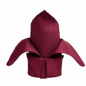 Burgundy-Linen-Napkin