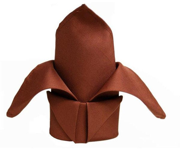 Chocolate-Brown-Linen-Napkin
