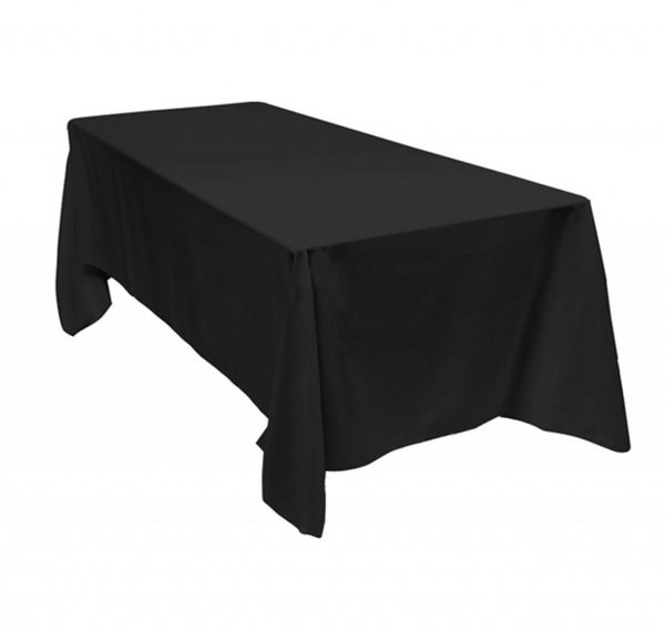 black-rectangle-tablecloth