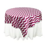 fushia-pink-chevron-table-overlay