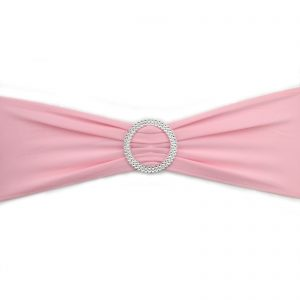 Light Pink Lycra Chair Band