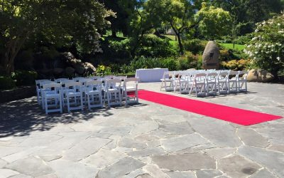 Wedding Ceremony at Treasury Gardens