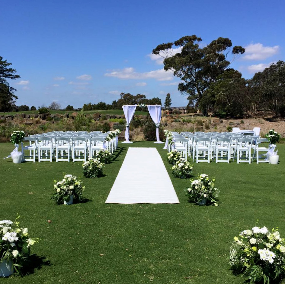 Wedding Ceremony And Reception Melbourne: Wedding Ceremony Hire Package D