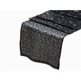 black-sequin-table-runners