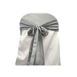 silver satin sash hire melbourne