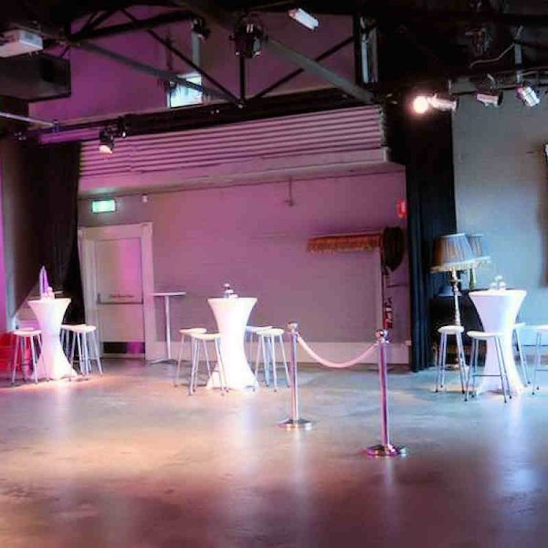 white lycra bar cover hire