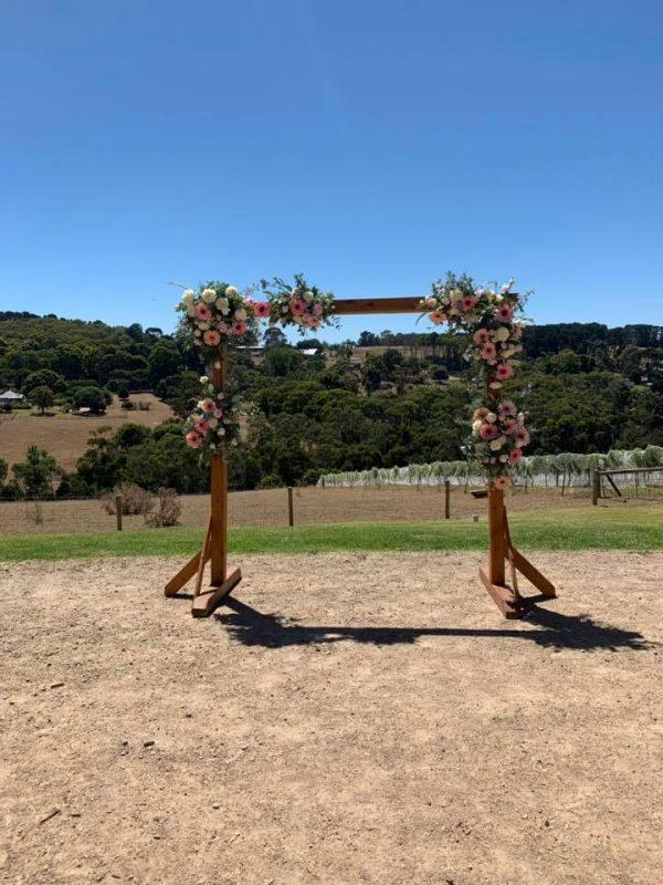 melburne wedding arch hire