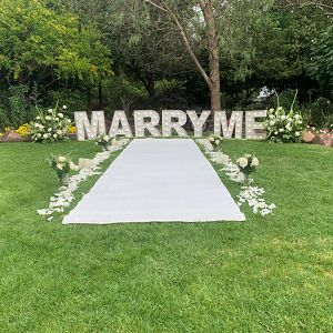 all white proposal package