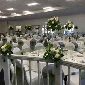 white table cloth hire melbourne