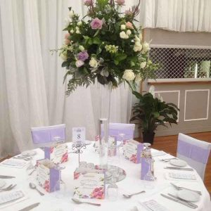 table centerpiece hire melbourne