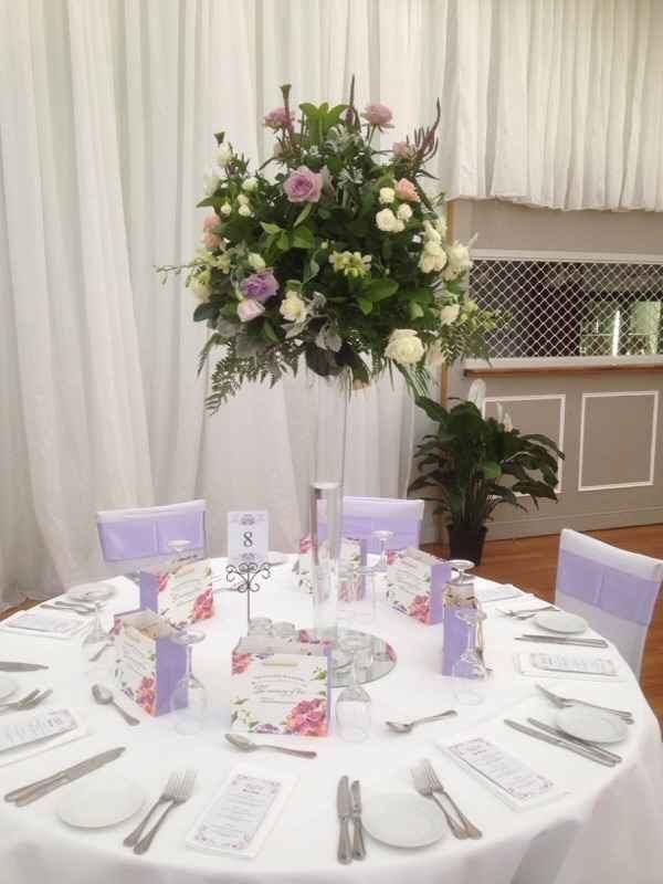 table centerpiece hire melbourne