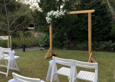 Melbourne Zoo Wedding Ceremony Setup Wedding Hire Melbourne