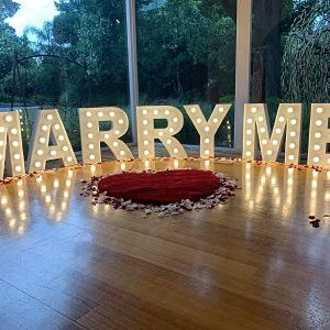 just marry me proposal package