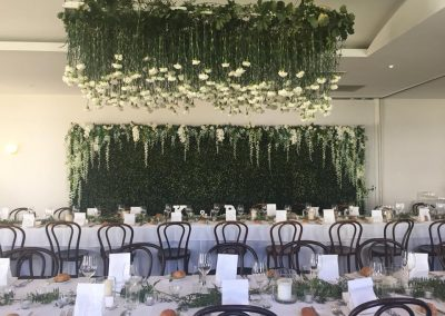 flower wall hire mornington peninsula