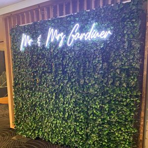green wall hire melbourne
