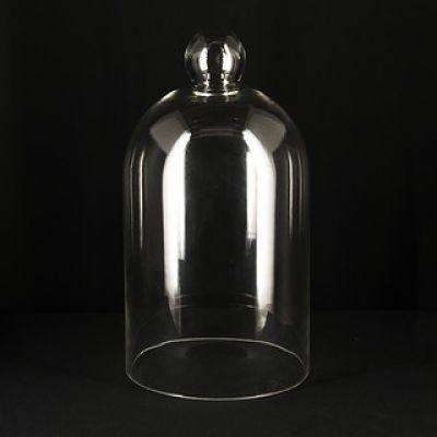 dome cloche glass centerpiece