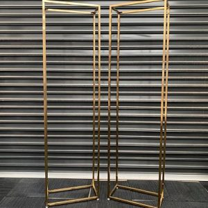 hire tall gold stands melbourne