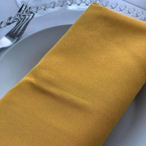 Hire Mustard Linen Napkins