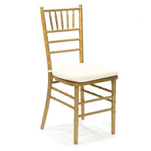 Gold Tiffany Chair Hire Melbourne
